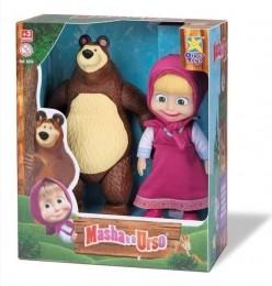 Bonecos em Vinil - Masha e o Urso - Diver Toys