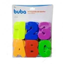 Brinquedo de Banho - Letras e Números - Buba