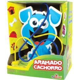 Brinquedo Educativo - Aramado Cachorro - CiaBrink