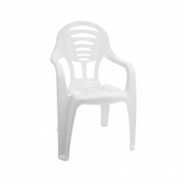 Cadeira Infantil - Branca - Paramount
