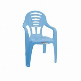 Cadeira Infantil com Braço - Azul - Paramount
