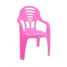 Cadeira Infantil com Braço - Rosa - Paramount