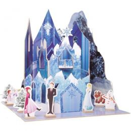 Castelo Princesa do Gelo - Brincadeira de Criança