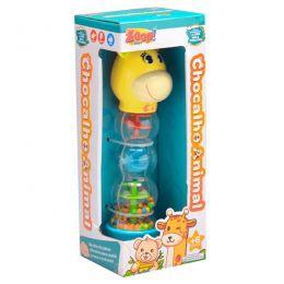 Chocalho Animal - Girafinha - Zoop Toys