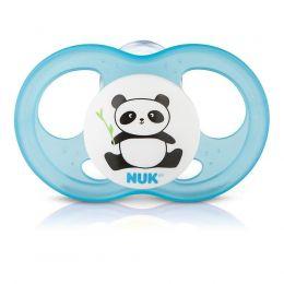 Chupeta Infinity Breeze - Panda - Azul - Tamanho 1 (0 a 6 meses) - Nuk