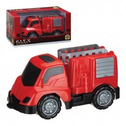Carro de Bombeiro - City Trucks - Samba Toys