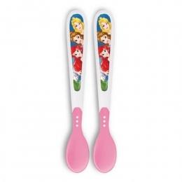 Colheres Termo Sensíveis - Princesas Disney - Multikids Baby