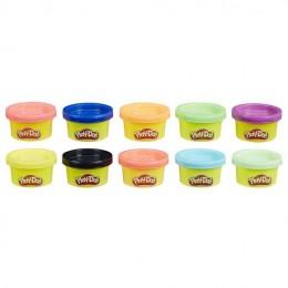 Massinhas Play-Doh - 10 mini potes - Kit de Festa - Hasbro