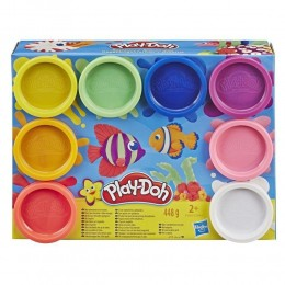 Massinhas Play-Doh - 8 Potes com Cores do Arco-Íris - Hasbro