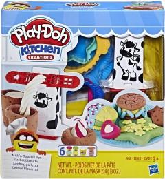 Massinhas Play-Doh - Kitchen Creation - Leite e Biscoitos - Hasbro