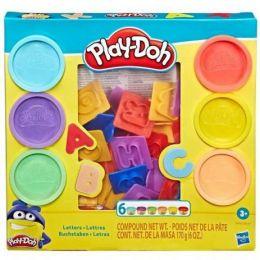 Conjunto de Massinhas Play-Doh - Letras - Hasbro
