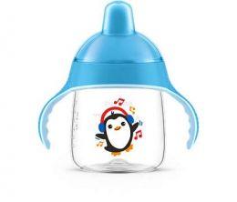 Copo Infantil Azul - Antivazamento 260ml - (+ 12 meses) - Philips Avént
