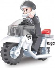 Blocos de Montar - Defensores da Ordem - Moto Polícia - 26 Peças - Xalingo