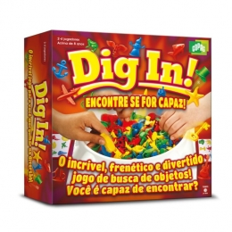 Jogo Dig In - Encontre Se For Capaz - Copag