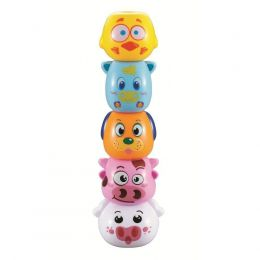 Empilha Amiguinhos da Fazenda - Zoop Toys