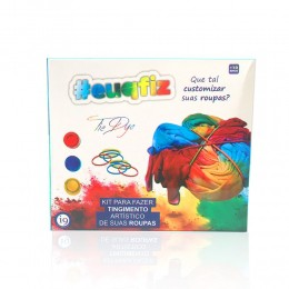 Kit Tie Dye - #EuQFiz - I9 Brinquedos