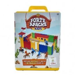 Forte Apache Kids - Maleta Batalha Infantil - Peças Coloridas - Gulliver