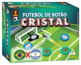 Futebol de Botão Cristal - Brasil x Argentina - 2 Times - Gulliver