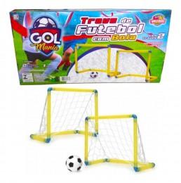 Trave de Futebol Com Bola - World Blocks