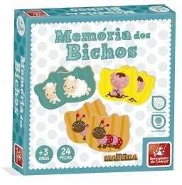 Jogo da Memória - Bichos - Brincadeira de Criança