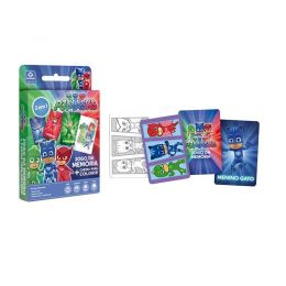 Jogo da Memória + Cartas para Colorir - PJ Masks - Copag
