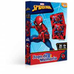 Jogo da Memória - Homem Aranha - 24 Pares - Toyster