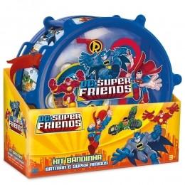 Kit Bandinha - Super Friends Batman e Super Amigos - Fun