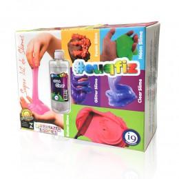 Super Kit de Slimes - Kit Para Fazer 5 Slimes - EuQFiz - I9 Brinquedos