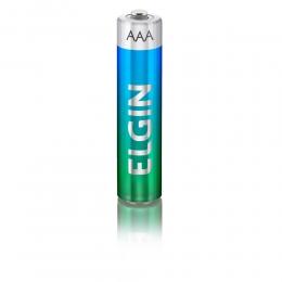 Kit Com 2 Pilhas Alcalinas AAA - Palito - Elgin