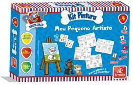 Kit Pintura - Esquadrão Pet - Meu Pequeno Artista - Brincadeira de Criança