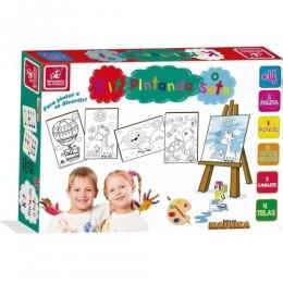 Kit Pintura - Pintando o Sete - Brincadeira de Criança