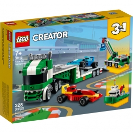 Lego Creator - Transportador de Carros de Corrida - 328 Peças - 31113