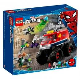 Lego Marvel - Homem Aranha Monster Truck vs Mysterio - 439 peças - 76174
