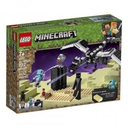 Lego Minecraft - Batalha Final - 222 peças - 21151