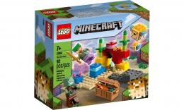 Lego Minecraft - O Recife de Coral - 92 Peças - 21164
