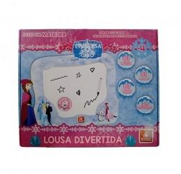 Lousa Divertida - Princesa do Gelo - Brincadeira de Criança