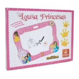 Lousa Princesas - Madeira - Brincadeira de Criança