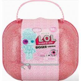 Maleta com Mini Bonecas - LOL - Bigger Surprise - 60 Surpresas - Candide