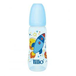 Mamadeira Sonho - 240ml - Tamanho 2 (+ 6 meses) - Azul - Foguete - Lillo