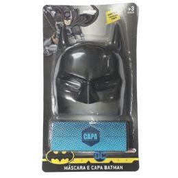 Máscara e Capa do Batman - Rosita