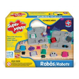Massinha Super Massa - Robôs - Estrela