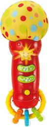Microfone Estrela do Rock Baby - com Som e Luz - WinFun