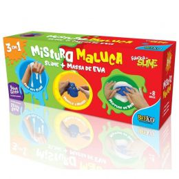 Mistura Maluca - Fábrica de Slime - Bee Kid