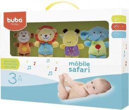 Móbile Musical Safari - Buba Toys