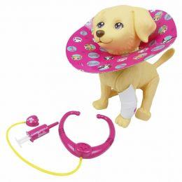 Pet da Barbie - Veterinário - Cachorrinha Taff - Pupee