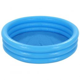 Piscina Infantil 288L - Crystal Azul 1,47x33 - Intex
