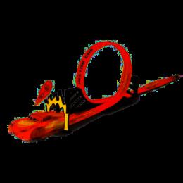 Pista Looping - Piston Cup - Relâmpago McQueen - Carros - Toyng