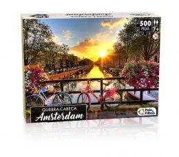 Quebra-Cabeça - Amsterdam - 500 peças - Pais e Filhos