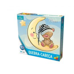 Quebra-Cabeça - Bear - 24 peças - Pais e Filhos