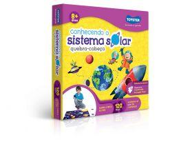Quebra-Cabeça - Conhecendo o Sistema Solar - 120 Peças - Toyster